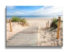 625e800a736 Art Painting Framed Print Tropical Beach Canvas Sea Sun Ocean View Wall  Picture.