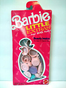 Barbie Little Extras for Big Fun Beauty Basics Play Pack 1991 Vintage Mattel NIP
