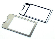Nokia 8800 Arte Gold Aussenglas LCD Display Front Cover Außen Glas inkl Kleber