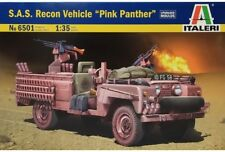 """Italeri 6501 S.A.S. Recon Vehicle """"Pink Panther"""" (upgraded Moulds) 1/35"""