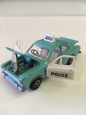 Dinky Toys Ford Escort Panda Police No.270R 1969 Aqua Made in United Kingdom