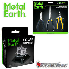 New Metal Earth 3 Pieces Tool Kit  Solar Spinner Fascinations Carbon Steel UK