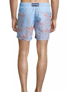 Mens Vilebrequin Designer Swim Boardshorts Moorea Bubble Turtle XL Shorts