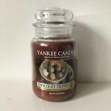 Yankee Candle ~ CHOCOLATE TRUFFLE ~ 22oz Large Jar *Free Expedited Shipping*