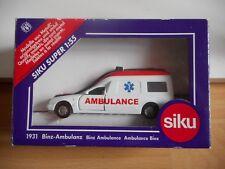 Siku Mercedes Binz Ambulance in White/Red in Box (Siku nr: 1931)