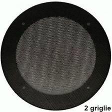 TLM 2 griglie per altoparlanti ø 200 mm metallo cod. 807 ricambio per automobile