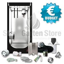 BUDGET Growbox Komplett Set 400 Watt Secret Jardin HS80 80x80x160 grow gunstig