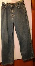 Rustler baggy blue jeans size 38x30 cotton men's
