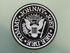 RAMONES  Embroidered Iron On Patch 3 ""