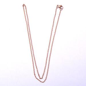 Chaine, collier 50 cm x 2 mm en acier inoxydable anti allergique-col161