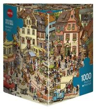 HY29884 - Heye Puzzles - Triangular, 1000 Pc - Market Place