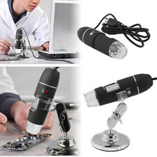 1600X USB Digital 8 LEDs Mikroskop Lupe Fach OTG Endoskop HD Microscope Kamera