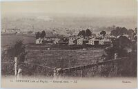 .ISLE OF WIGHT. RARE EARLY 1900s POSTCARD. NEWPORT GENERAL VIEW NO 14 LL SERIES