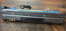 Sony VCR Combo Player VHS DVD Tested Working No Remote SLV-D380P