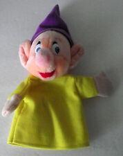 Vintage Dopey Hand Puppet Snow White Seven Dwarfs Plush Walt Disney World WDW