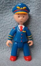 "PILOT CAILLOU 3.5"" ACTION FIGURE, PBS, Cake Topper"