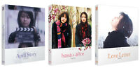 April Story, Hana & Alice, Love Letter - Blu-ray Full Slip Case Edition Pick one