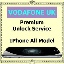 Vodafone UK PREMIUM Factory Unlock Service iPhone 4s 5 5c 5s 6 6+ 6s 6s+ SE 7 7+