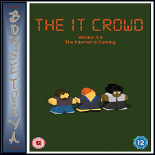 THE IT CROWD - VERSION 5.0 - THE INTERNET IS COMING  *BRAND NEW DVD***