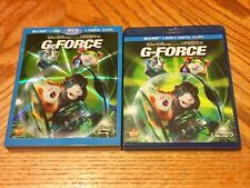 Disney Blu Ray Used W/ Slipcover G-Force Animated Classic DVD Vault