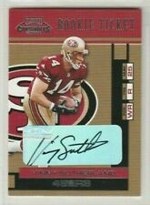 Vinny Sutherland 2001 Playoff Contenders Rookie Ticket Autograph AUTO RC *49ERS*