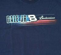 Dale Earnhardt Jr Budweiser #8 Shirt Sz XL NASCAR 2005 Winners Circle Navy Blue