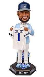 EZEKIEL ELLIOTT ZEKE Dallas Cowboys Buckeyes Football DRAFT EXCLUSIVE Bobblehead