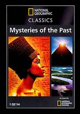 National Geographic Classics: Mysteries of the Past (NEW 3DVD Set)  5 HOURS