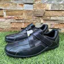 Cole Haan Men's Leather Driving Shoes Strappy Slip On Loafers Size 13M NWT