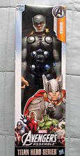 STAN LEE SIGNED THOR FIGURE DC/COA TITAN HERO (MARVEL) AVENGERS