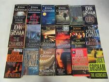 BIG Lot (18) JOHN GRISHAM Legal Thriller Books BROKER Street Lawyer CHAMBER Firm
