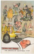 Comic Police and Car by Alf Hilton With the Force The Dreams of Constable XXX