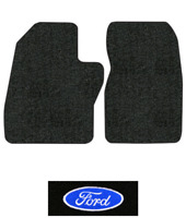 1997 Ford F-350 Floor Mats - 2pc - Cutpile | Fits: Regular Cab, Old Body Style