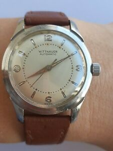 Wittnauer Watch Automatic cal.1384 Mens Swiss Made Just Serviced