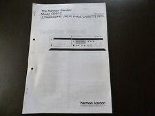 Service MANUAL Harman Kardon Model CD 91 C