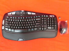 Logitech MK550 Wireless Wave Keyboard And Mouse Combo Very Good 1688