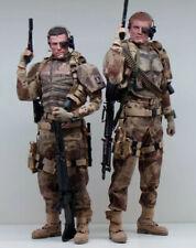 pour pieds - échelle 1//6 Gi Joe Action Figures British Special Air Service-bottes
