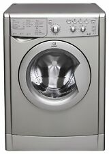 Indesit IWDC 6125 S Free Standing 6KG / 5KG 1200 Spin Washer Dryer - Silver.