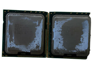 PAIR Intel Xeon X5690 SLBVX 3.46GHz 12MB 6-Core LGA1366 CPU Processors