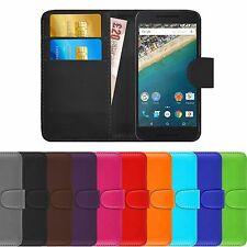 Premium Leather Book Wallet Case Cover For Various Samsung Galaxy Phones