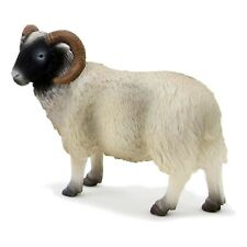 MOJO Black Faced Sheep Ram Animal Figure 387081 NEW Educational Learning Toys