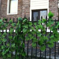 7.8ft Artificial Ivy Leaf Garland Plants Vine Fake Foliage Wedding Decorations