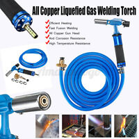 Electronic Ignition Liquefied Gas Welding Torch Kit W/ 3M Hose Soldering Gun