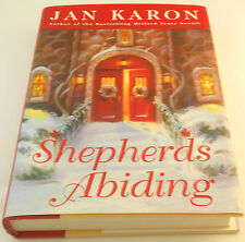 Jan Karon Shepherds Abiding #8 Mitford Hc Dj 1st 2003 Father Tim Christmas Vg