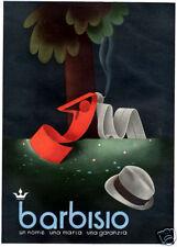 Severo Pozzati-Sepo-BARBISIO-Comacchio-Cappello Vintage- eleganza-sigaretta-1937