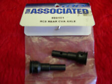 Associated 89101 RC8 Rear CVA Axle 2 pc Black NEW