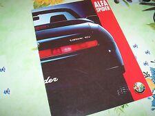 Catalogue / Brochure ALFA ROMEO Spider 1995 //