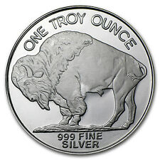 1 oz Silver Round - Buffalo - SKU #44447