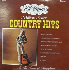 101 STRINGS MILLION SELLER COUNTRY HITS LP 1972 STEREO EXCELLENT!!