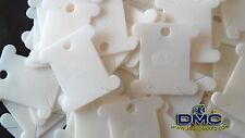 Cross Stitch Tools & Accessories - DMC Floss Bobbins (40 pieces)